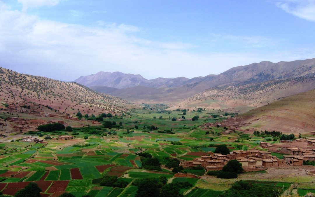 Bougmez Valley, High Atlas Mountains, Morocco